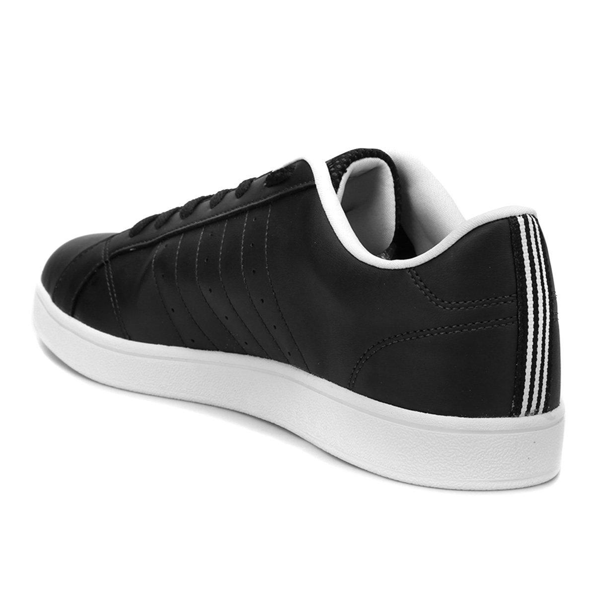 39c6a1fe3d Tênis Adidas Advantage Vs - Preto e Branco - Compre Agora