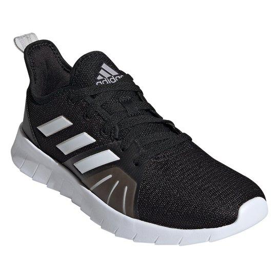 Tênis Adidas Asweemove 2.0 Feminino - Preto+Branco