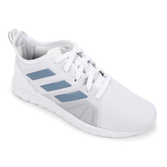 Tênis Adidas Asweemove 2.0 Feminino - Branco+Azul