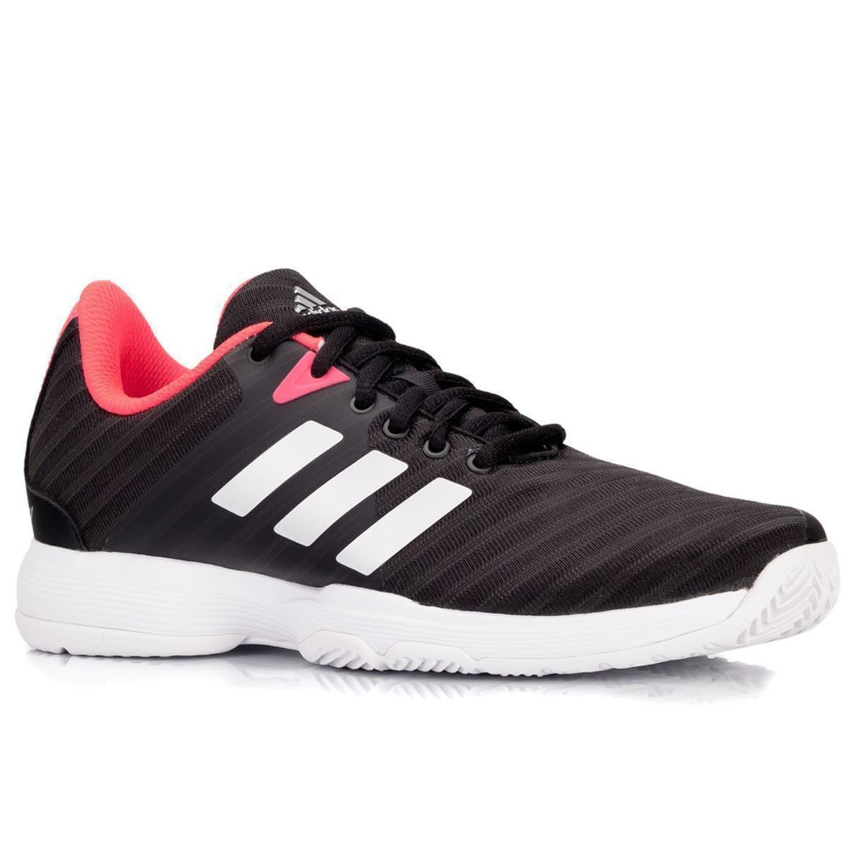 Tênis Feminino Adidas Adidas Court Preto Barricade Tênis Barricade Court Prata e Feminino e Preto gBxqgwFA