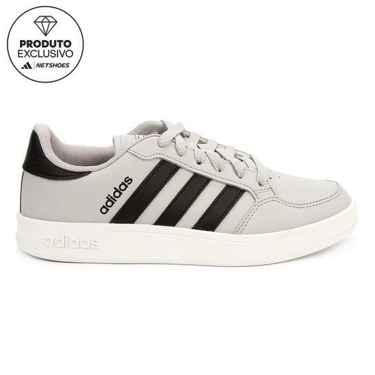Tênis Adidas Breaknet Masculino - Cinza+Preto