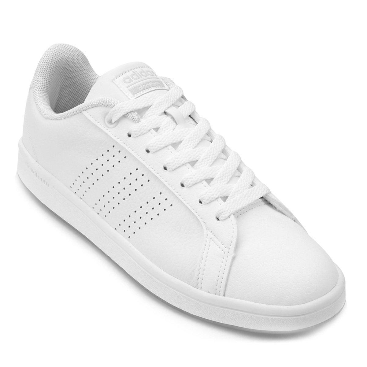 Tênis Adidas Cf Advantage Clean Feminino - Branco