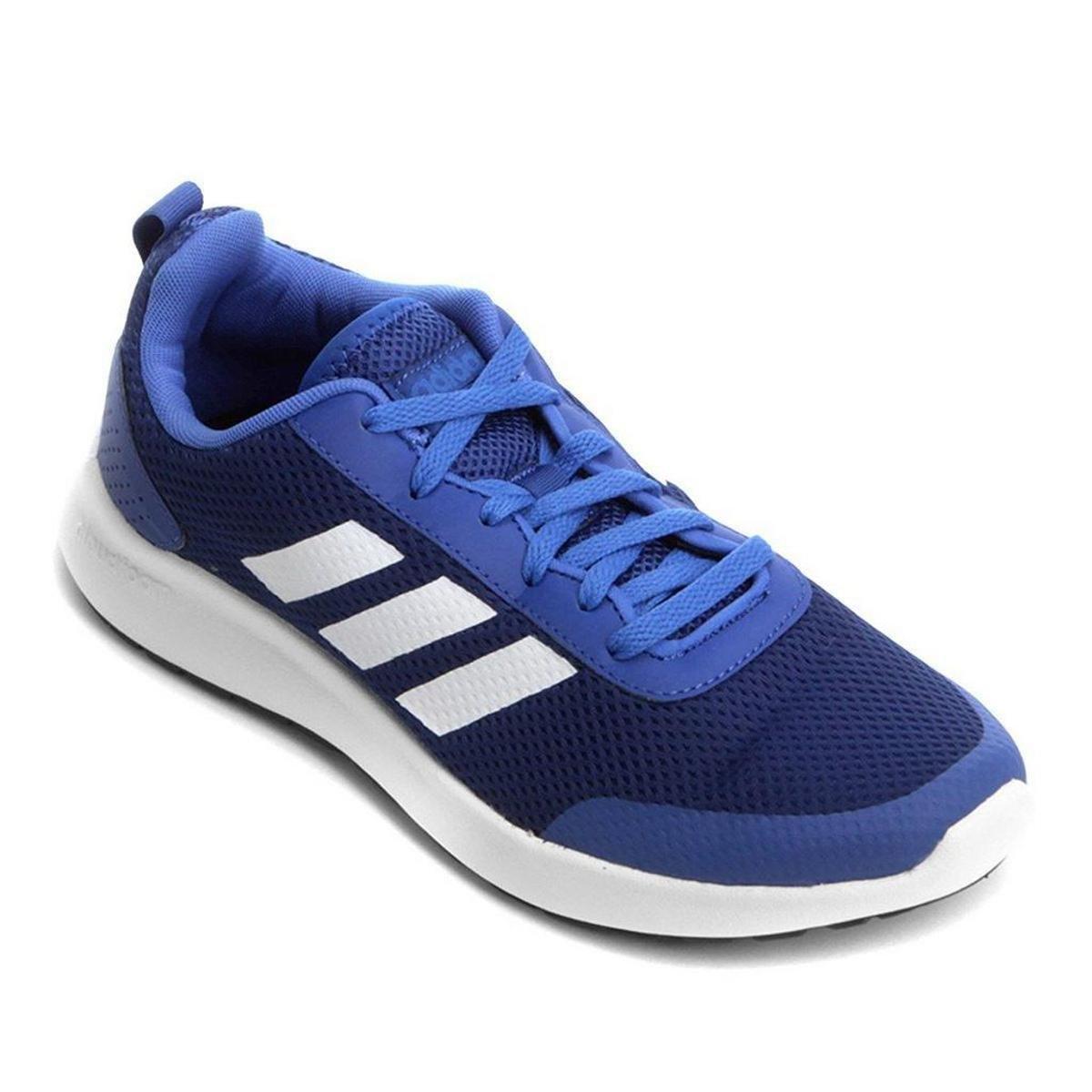 7429a0ff58d Tênis Adidas CF Element Race Masculino - Branco e Azul Royal - Compre Agora