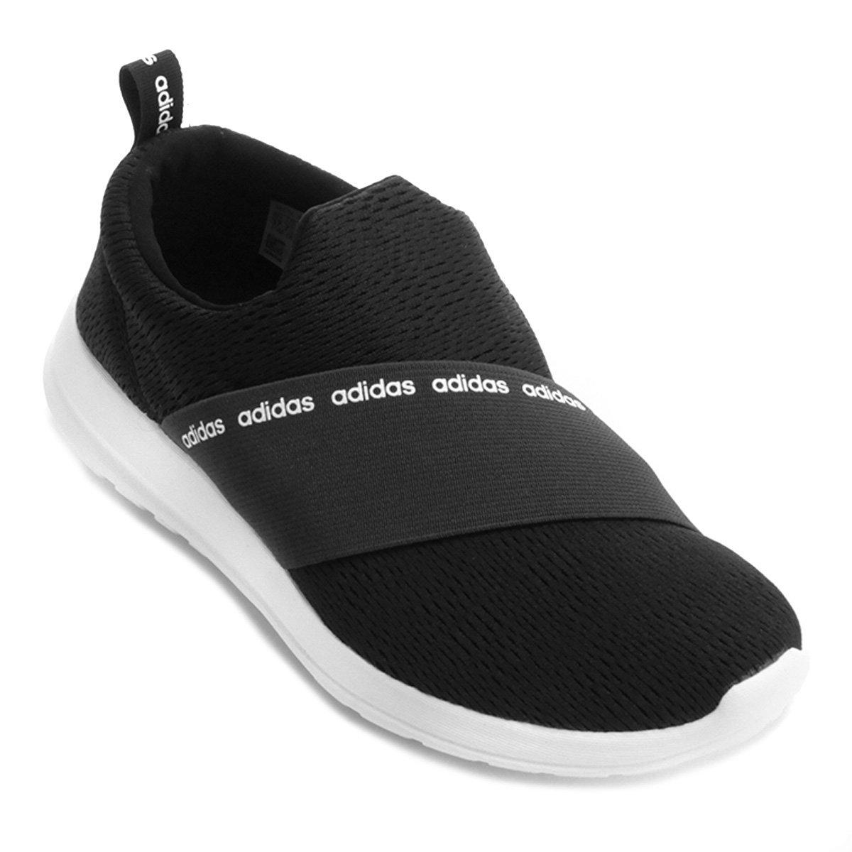 7dbc00b62ed Tênis Adidas Cf Refine Adapt W Feminino - Preto - Compre Agora ...