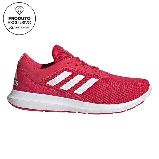 Tênis Adidas Coreracer Feminino - Rosa+Branco