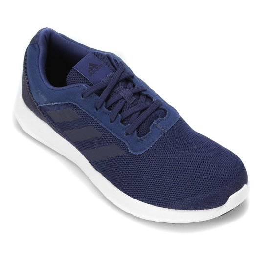 Tênis Adidas Coreracer Masculino - Azul Petróleo+Branco
