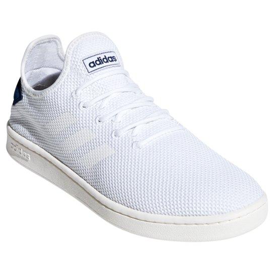 Tênis Adidas Court Adapt Masculino - Branco+Azul