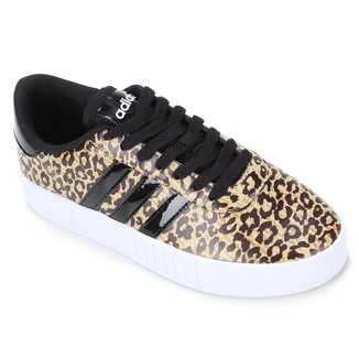 Tênis Adidas Court Bold Leopard Feminino