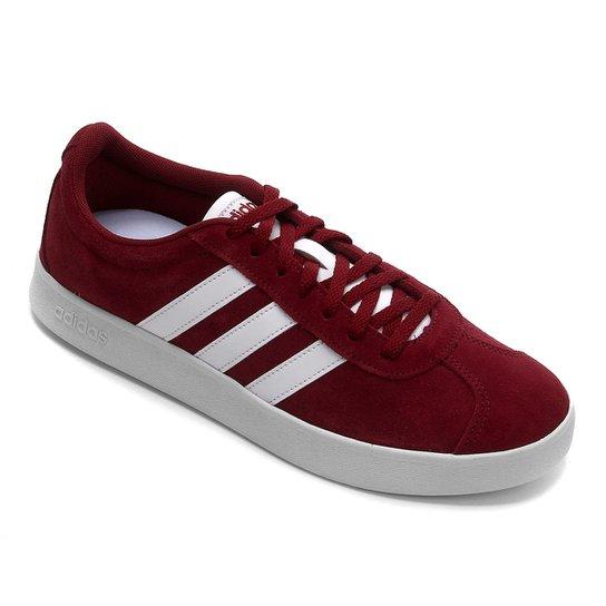 Menor preço em Tênis Adidas Court Masculino - Vermelho e Branco