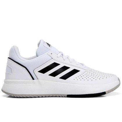 Tênis Adidas Courtsmash Branco e Preto