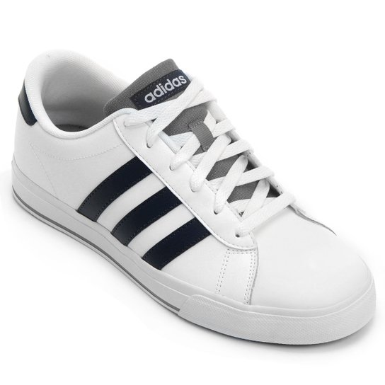 Tênis Adidas Daily Vulc - Branco+Grafite
