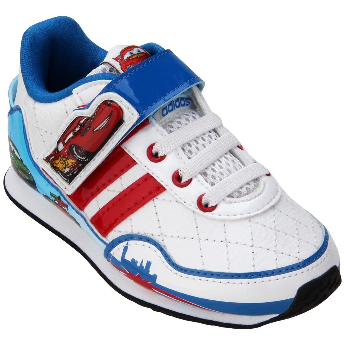 best service c19b6 6e53e Tênis Adidas Disney Cars 2 CF Mcqueen Infantil - Compre Agor