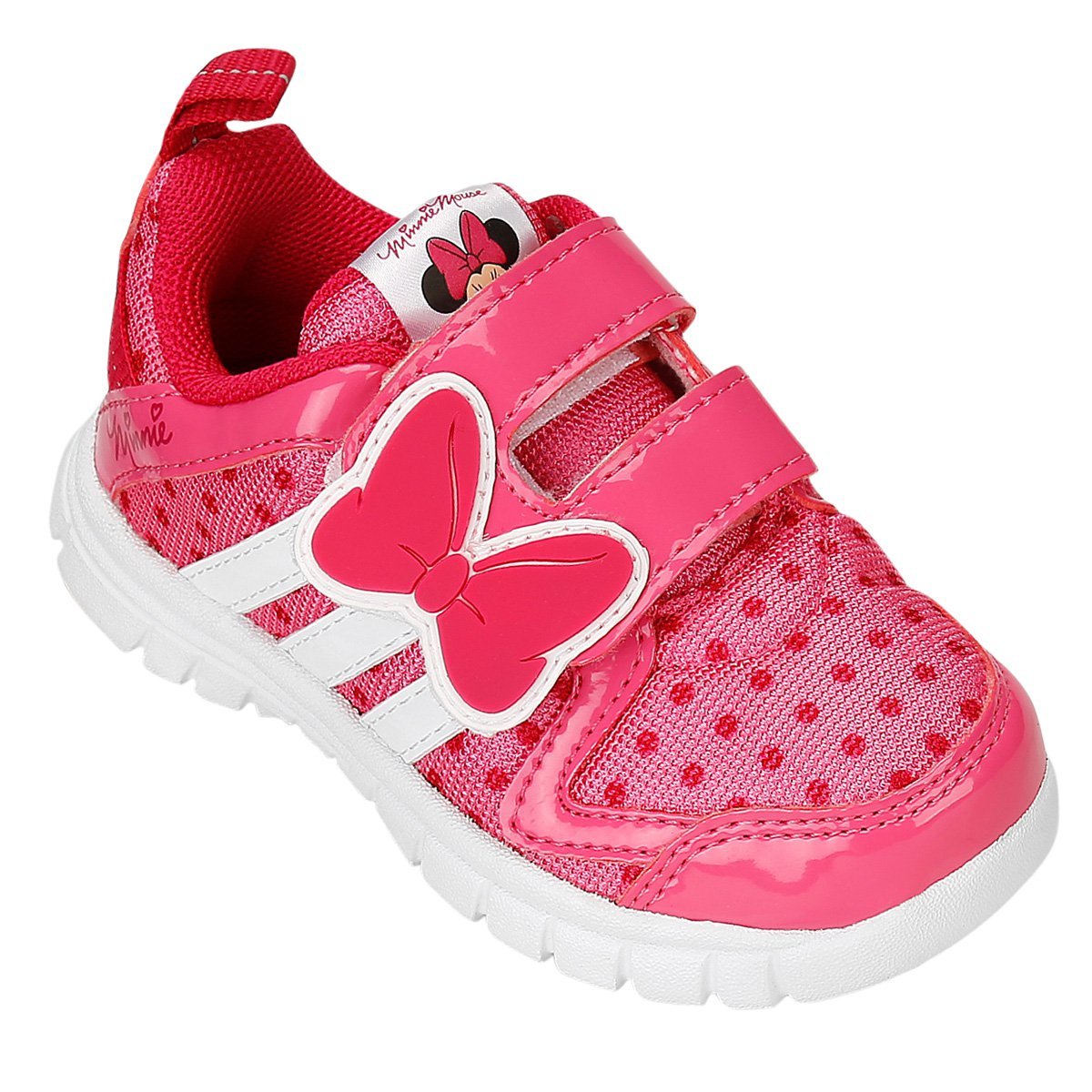 Tênis Adidas Disney Minnie CF Infantil - Compre Agora  893ad9db5c971