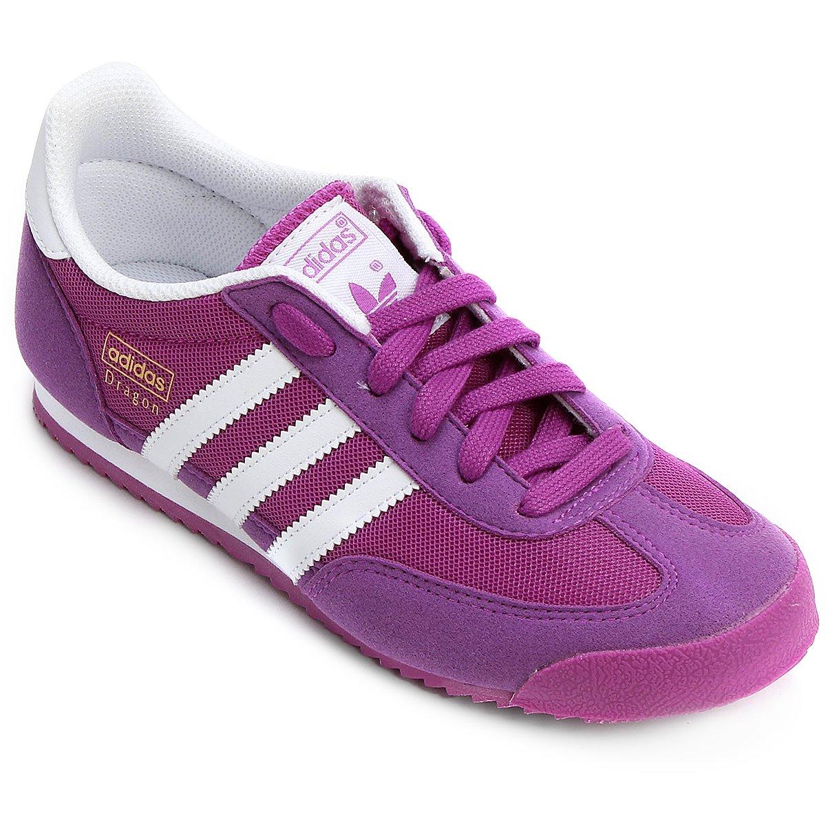 tenis adidas dragon rosa