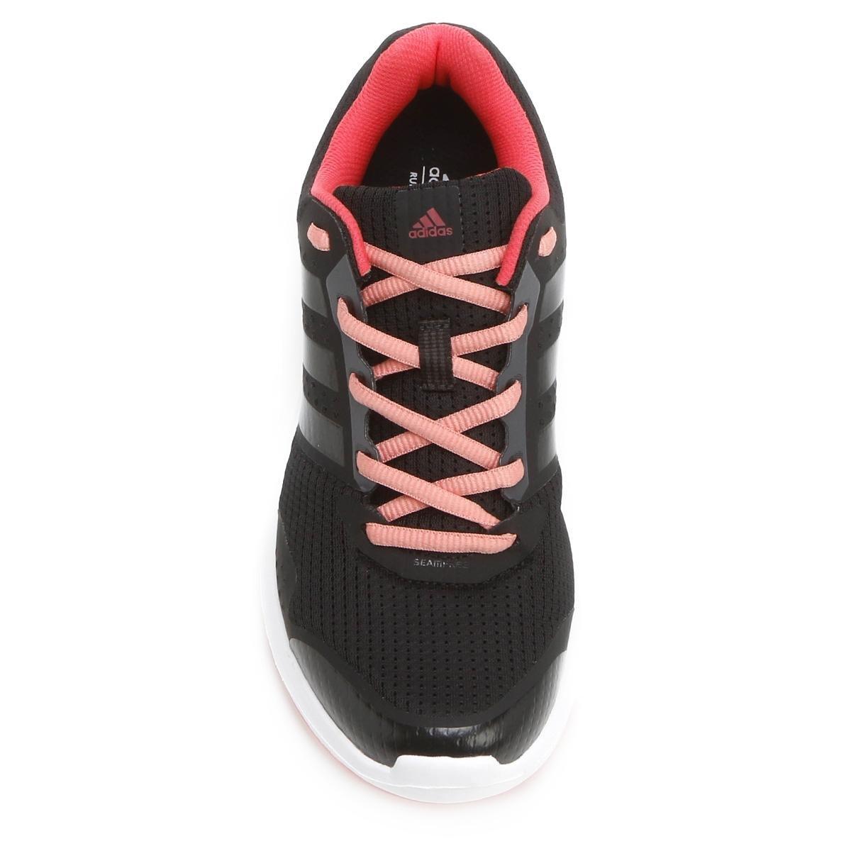 Tênis Adidas Duramo 7 Feminino - Preto e Rosa - Compre Agora  70cccd3b32f84