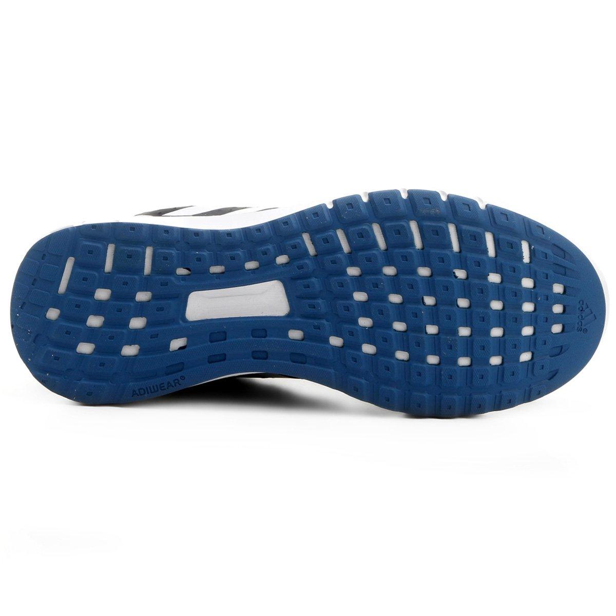 4d01b525ce Tênis Adidas Duramo 7 Feminino - Preto e Azul - Compre Agora