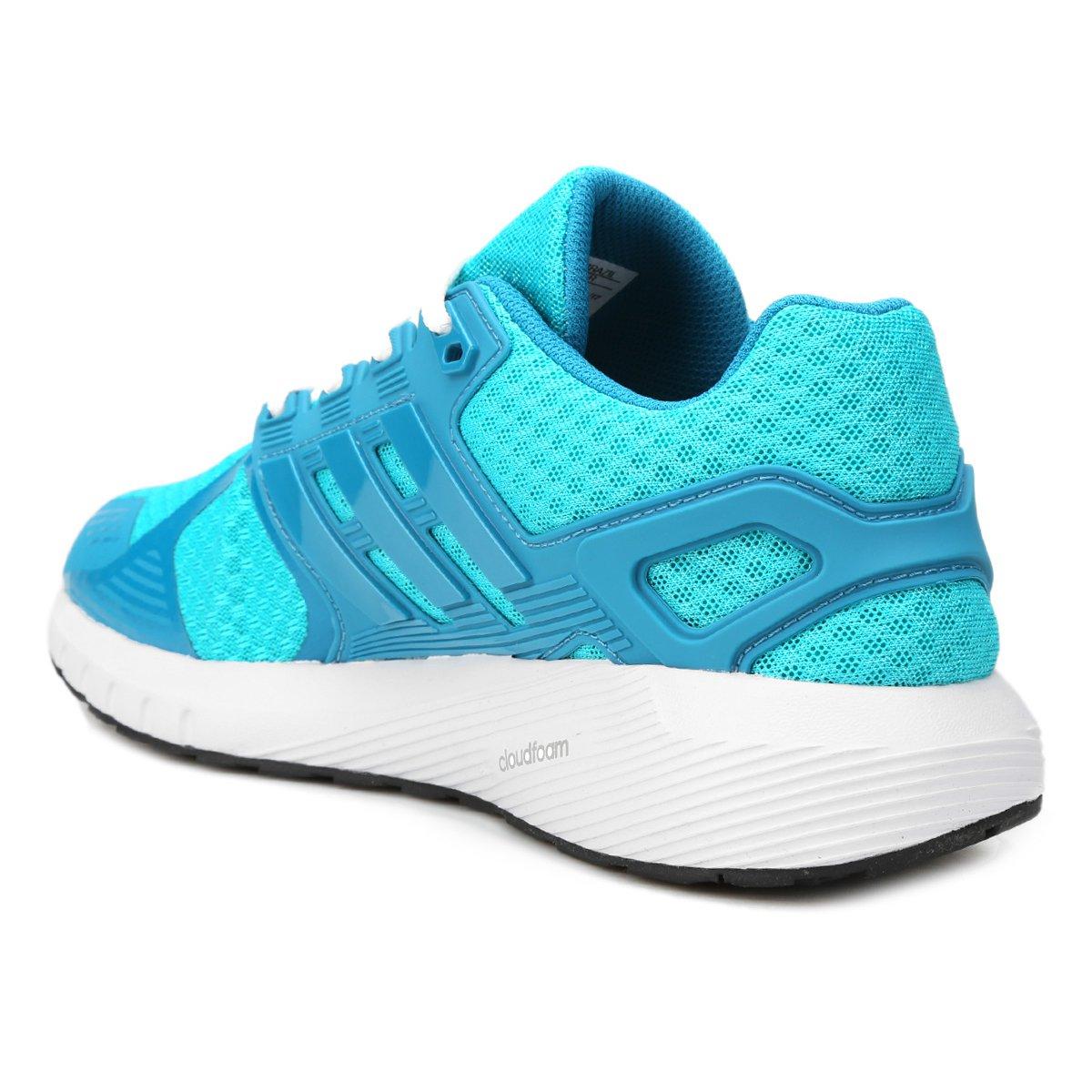 ... Tênis Adidas Duramo 8 Feminino  Tênis Adidas Duramo 8 Feminino. Tênis  Adidas Duramo 8 Feminino - Azul Piscina+Azul Claro ff6b2de2ae3f8