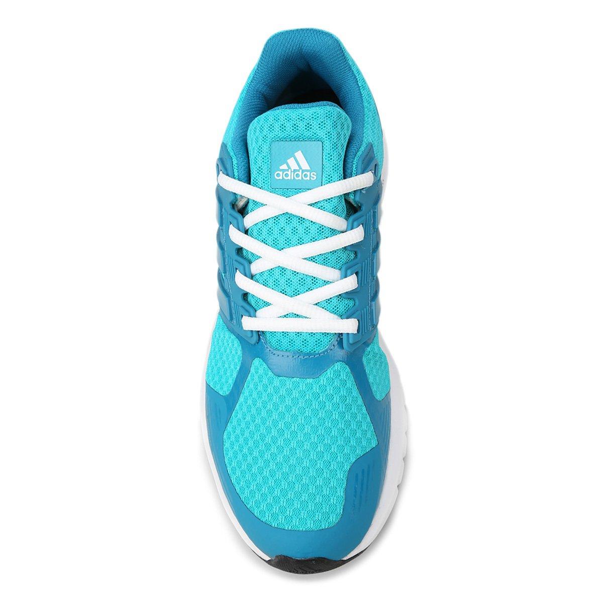 ... Tênis Adidas Duramo 8 Feminino. Tênis Adidas Duramo 8 Feminino - Azul  Piscina+Azul Claro 949e9817759c8