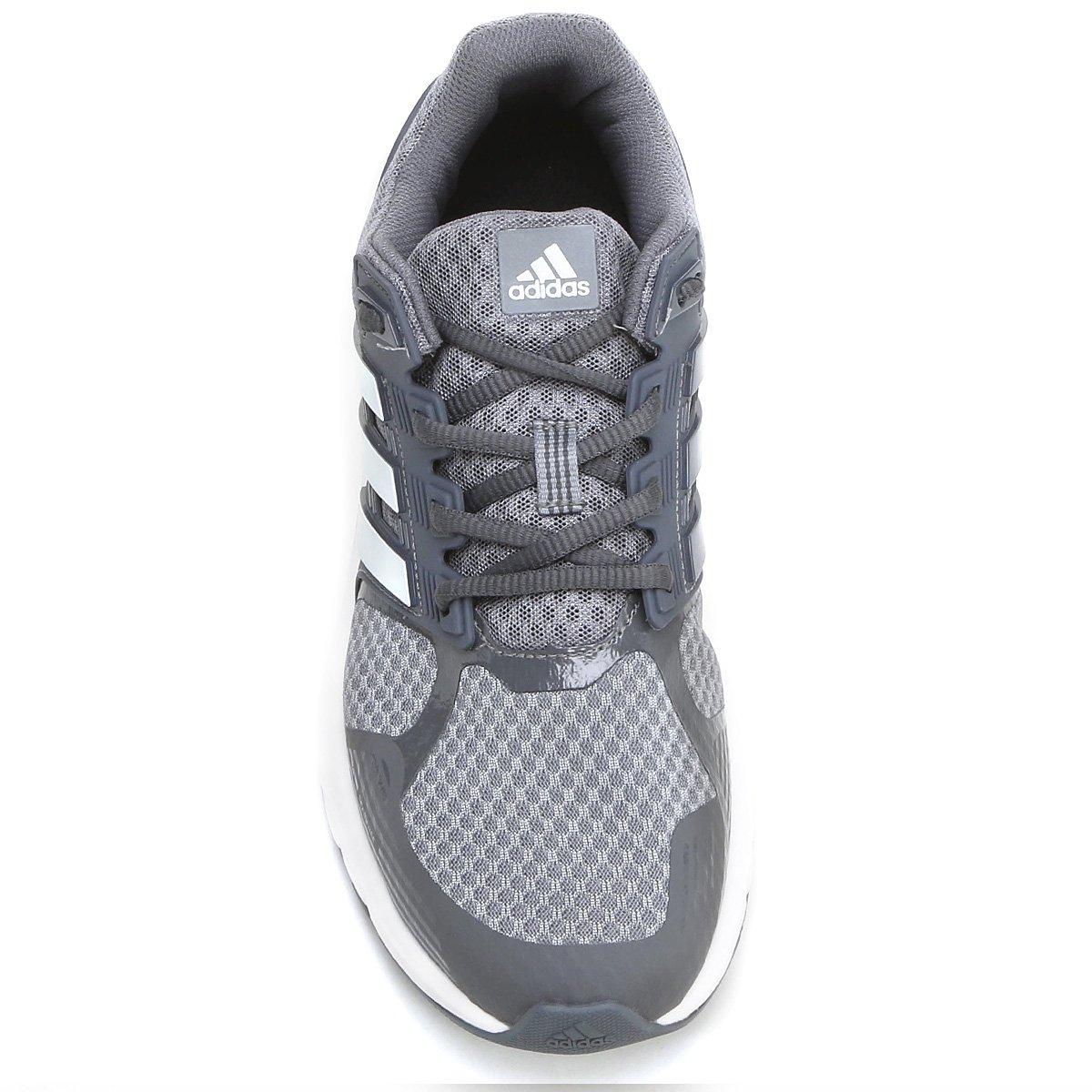 Cinza Duramo Adidas Tênis 8 e Tênis Branco Adidas Masculino CHPqnFB