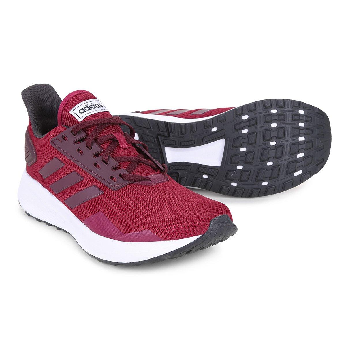 e7a69f96499 Tênis Adidas Duramo 9 Masculino - Vermelho - Compre Agora