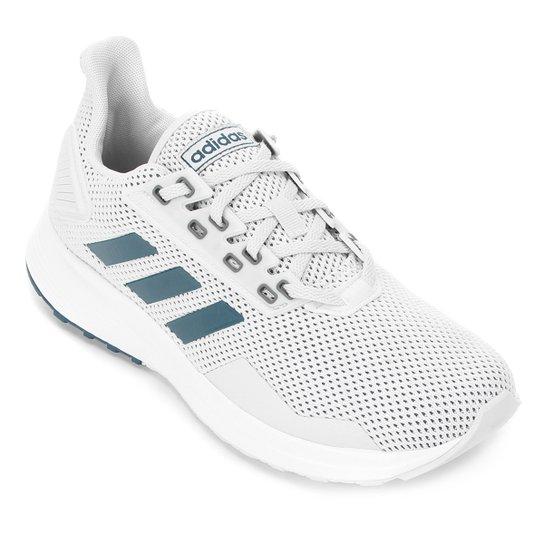 Tênis Adidas Duramo 9 Masculino - Cinza+Marinho