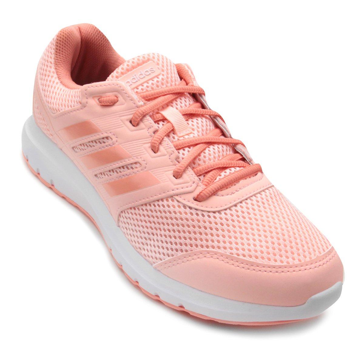 d90e345e720 Tênis Adidas Duramo Lite 2 0 Feminino - Coral - Compre Agora