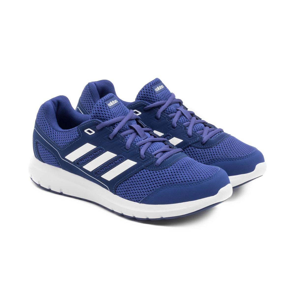 b3920d1b11b Tênis Adidas Duramo Lite 2 0 Masculino - Marinho e Branco - Compre Agora