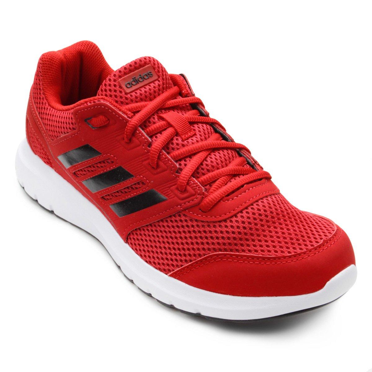 Tênis Adidas Duramo Lite 2 0 Masculino - Vermelho e Preto