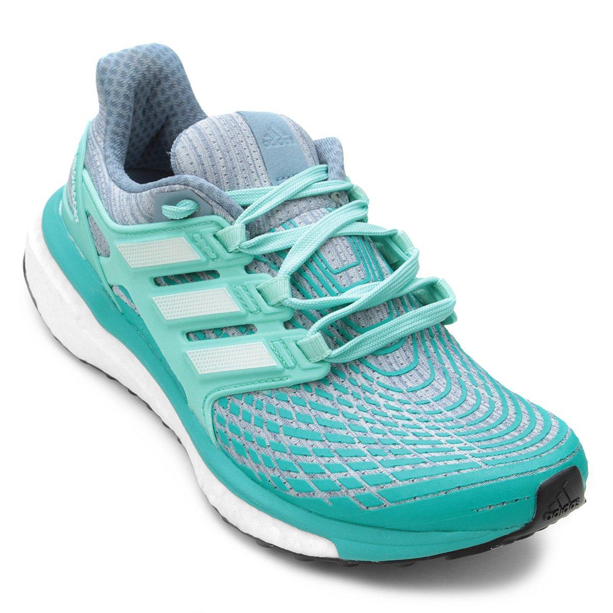 Tênis Adidas Energy Boost Feminino - Cinza e Branco - Compre Agora ... 91d8e7aa12a