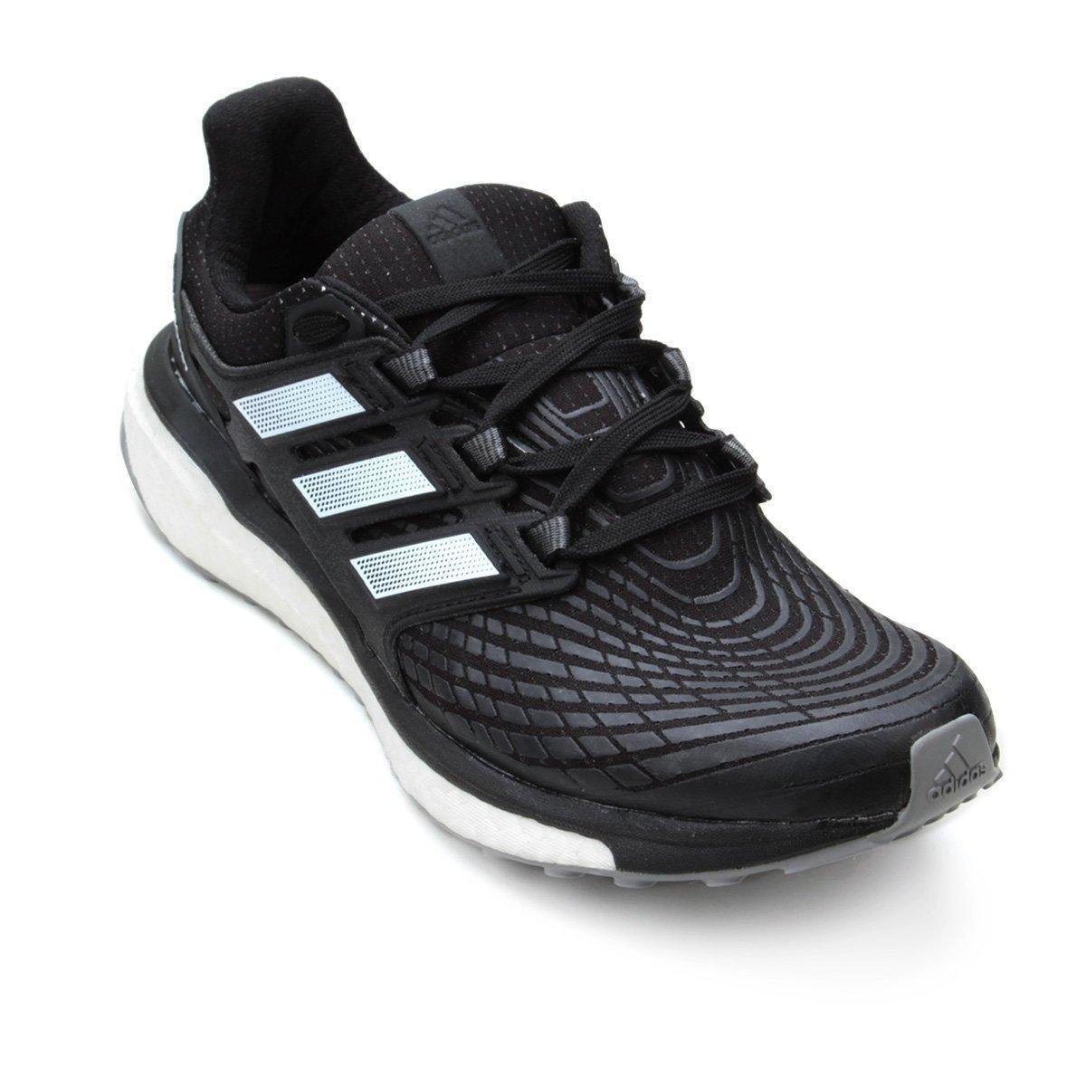 65e33a0648139 Tênis Adidas Energy Boost Masculino - Preto e Branco - Compre Agora ...