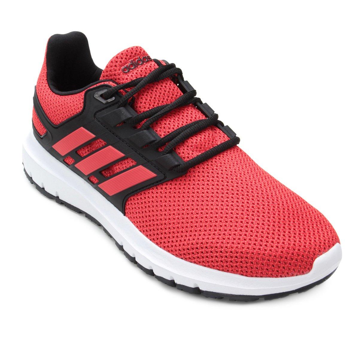 Tênis Adidas Energy Cloud 2 Masculino - Vermelho e Preto - Compre ... 6b6c4d0fa9050