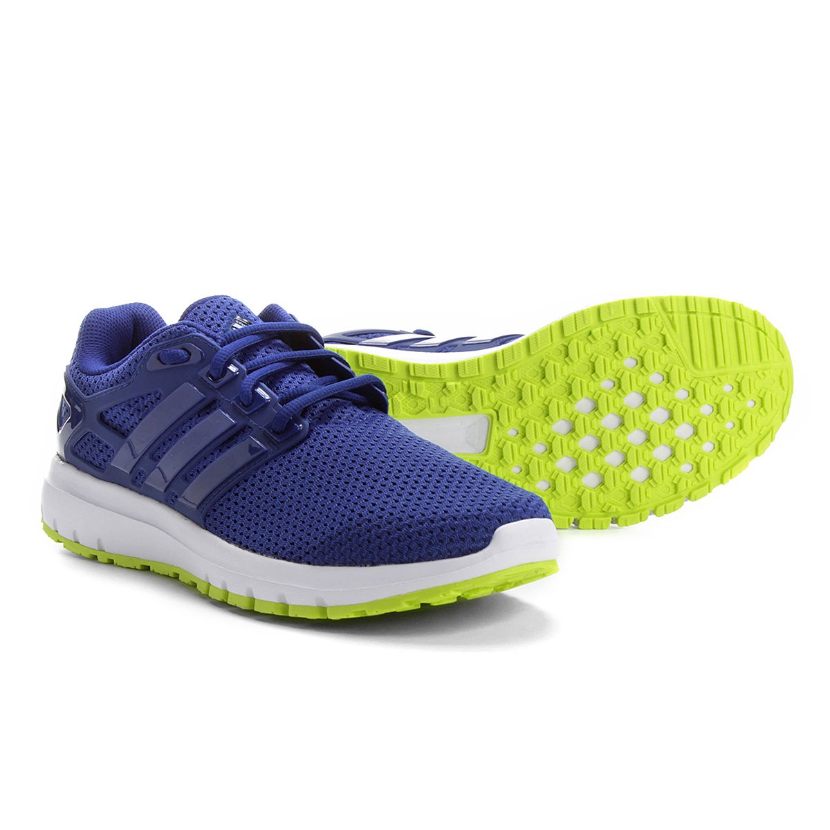 Tênis Adidas Energy Cloud Masculino - Azul e Verde - Compre Agora ... db91ca507dfaa