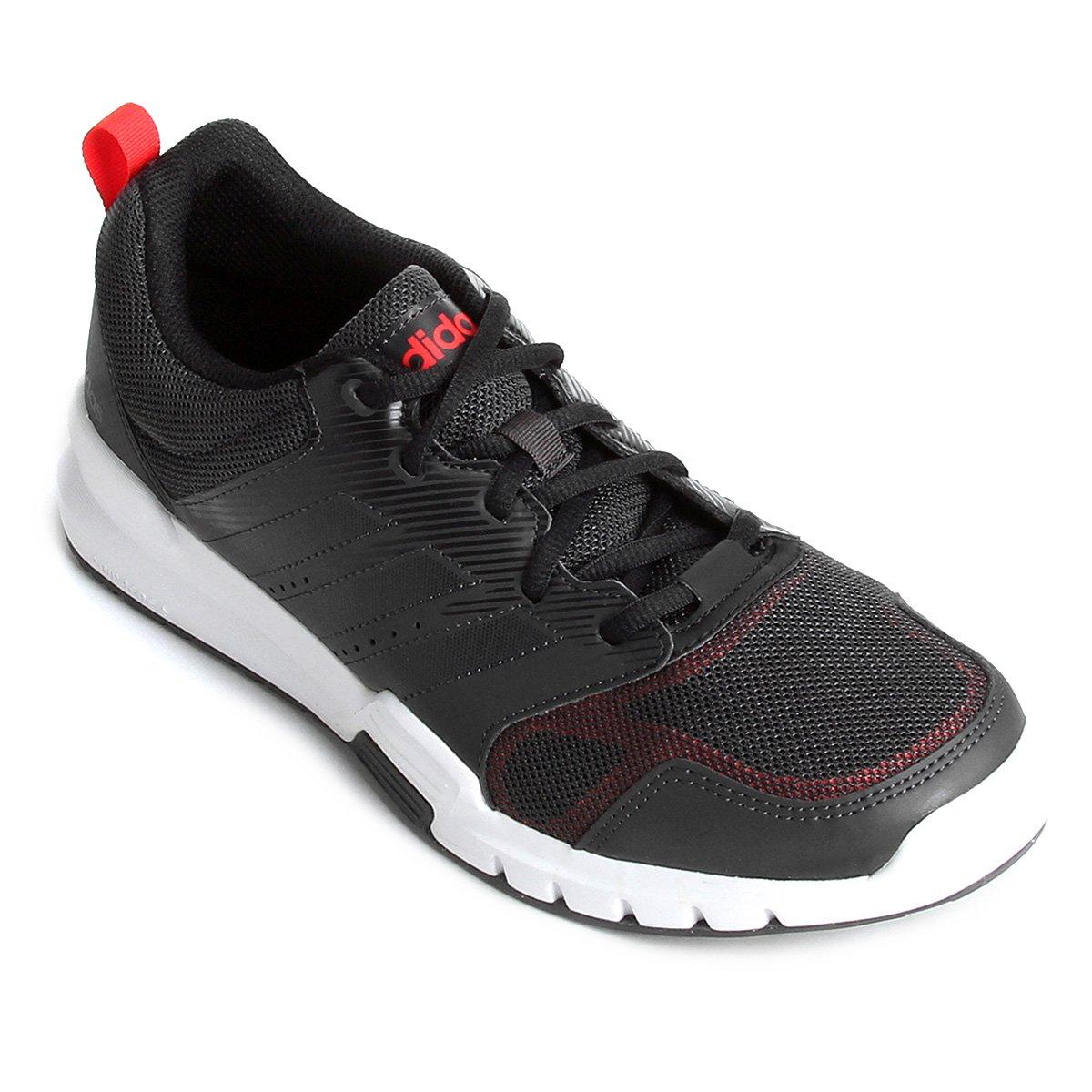 Preto Essential Tênis Adidas Adidas Essential Masculino Star e 3 Vermelho Star Tênis 3 Masculino HxpPqw