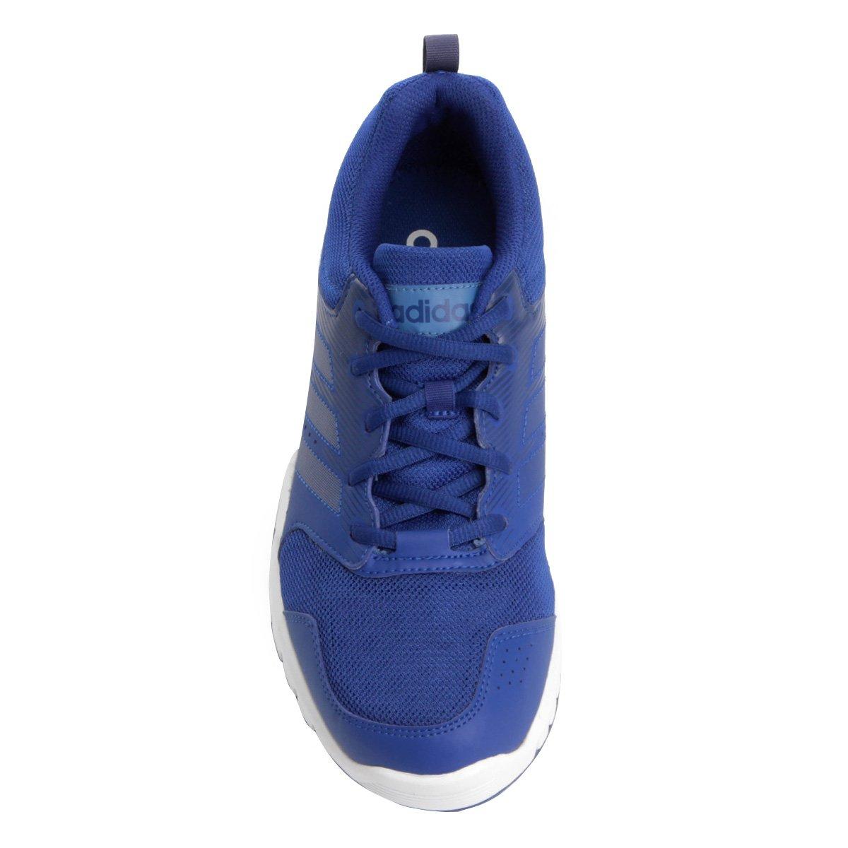Tênis Adidas Essential Star 3 Masculino - Azul Royal - Compre Agora ... 8d4f5e78790af
