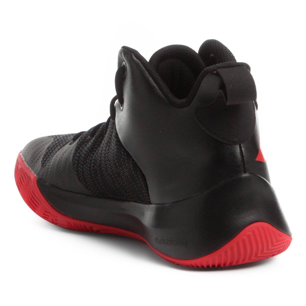 Tênis Adidas Explosive Flash Masculino - Preto e Vermelho - Compre ... b131bef3e2f1b