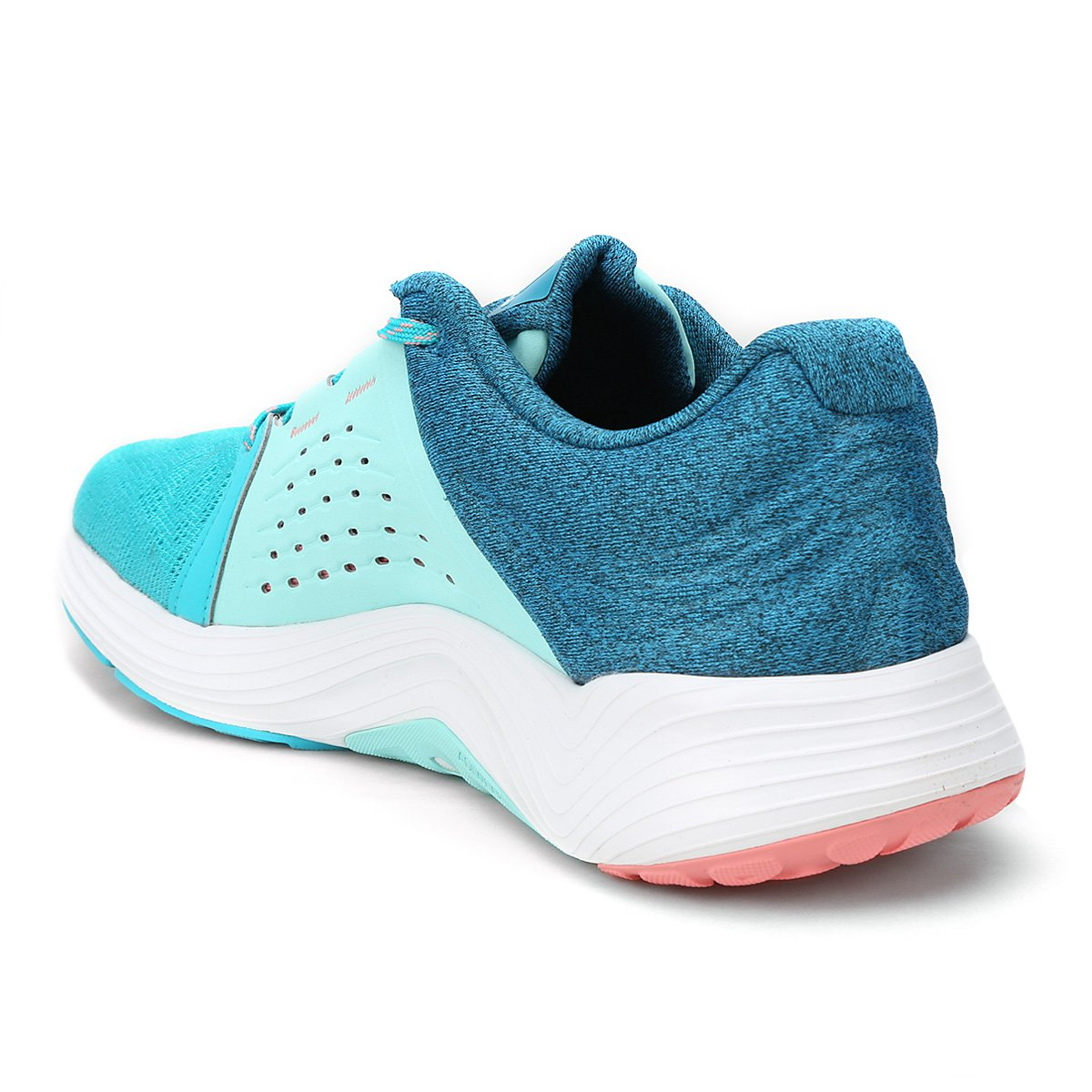 Tênis Adidas Fluid Cloud Feminino - Azul Piscina e Azul Claro ... 0b081aef7f4f1