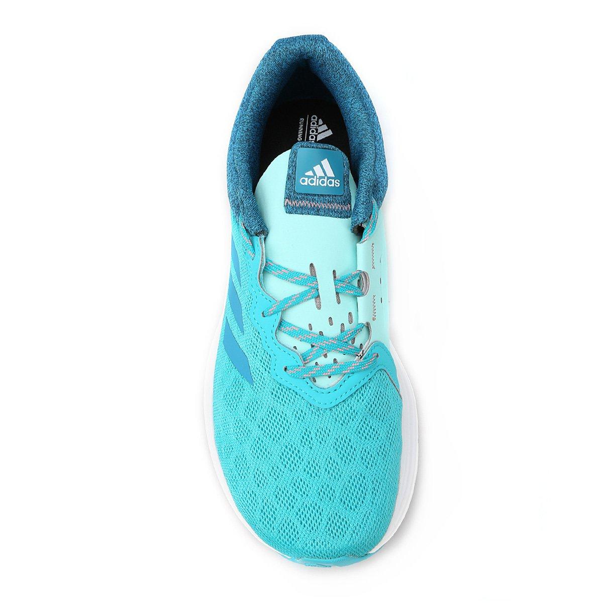 ... Tênis Adidas Fluid Cloud Feminino. -35%. Tênis Adidas Fluid Cloud  Feminino - Azul Piscina+Azul Claro 10796d8615b81