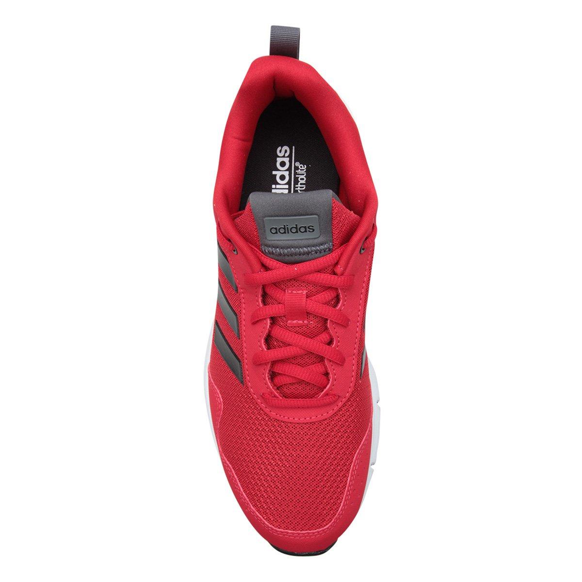 Tênis Preto Fluidcloud Adidas Vermelho e Masculino Adidas Tênis Neutral xgrSZx