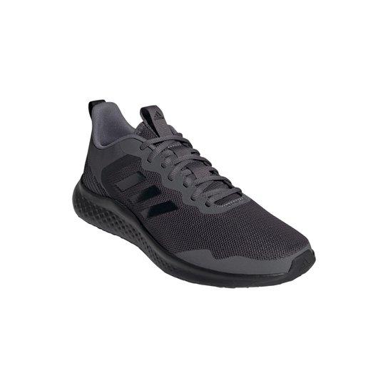 Tênis Adidas Fluidstreet Masculino - Preto+Cinza
