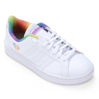 Tênis Adidas Grand Court Pride Feminino