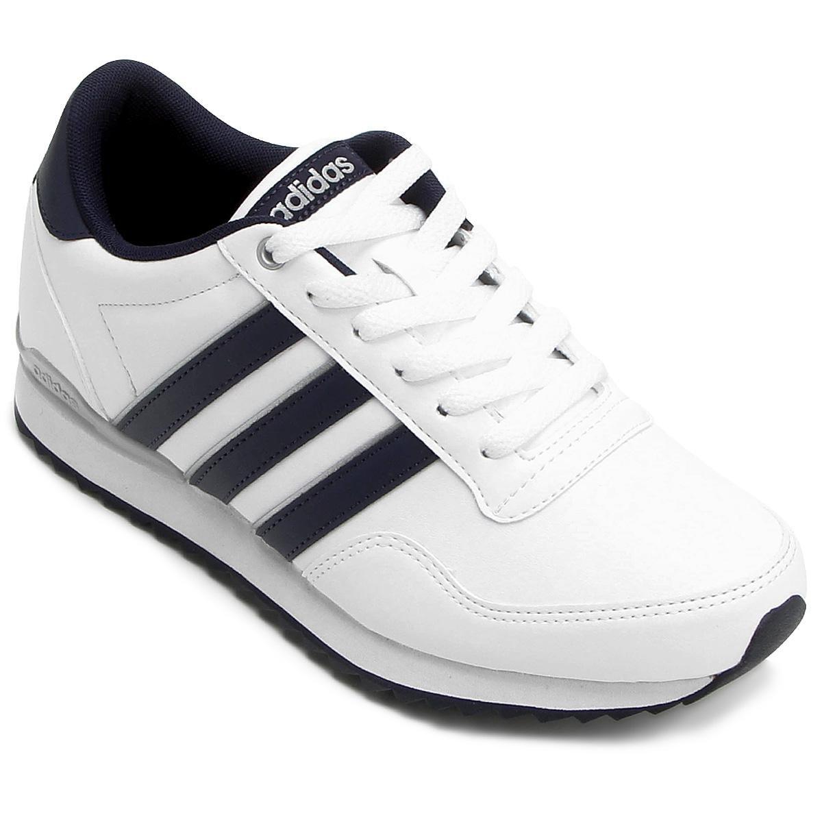 Tᄄᄎnis Adidas Jogger Cl Branco e Marinho