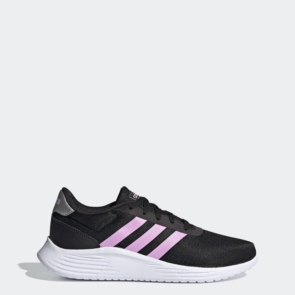 Tênis Adidas Lite Racer 2.0 Feminino - Preto+Off White