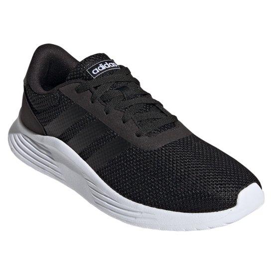 Tênis Adidas Lite Racer 2.0 Masculino - Preto+Off White