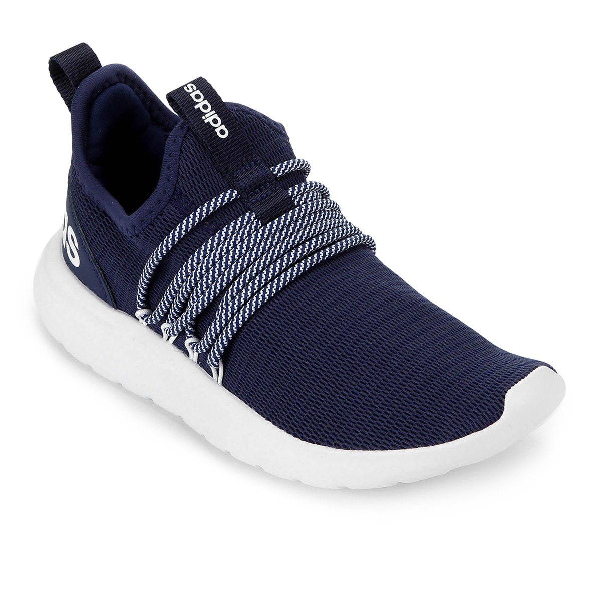 Tênis Adidas Lite Racer Adapt Masculino - Azul e Branco