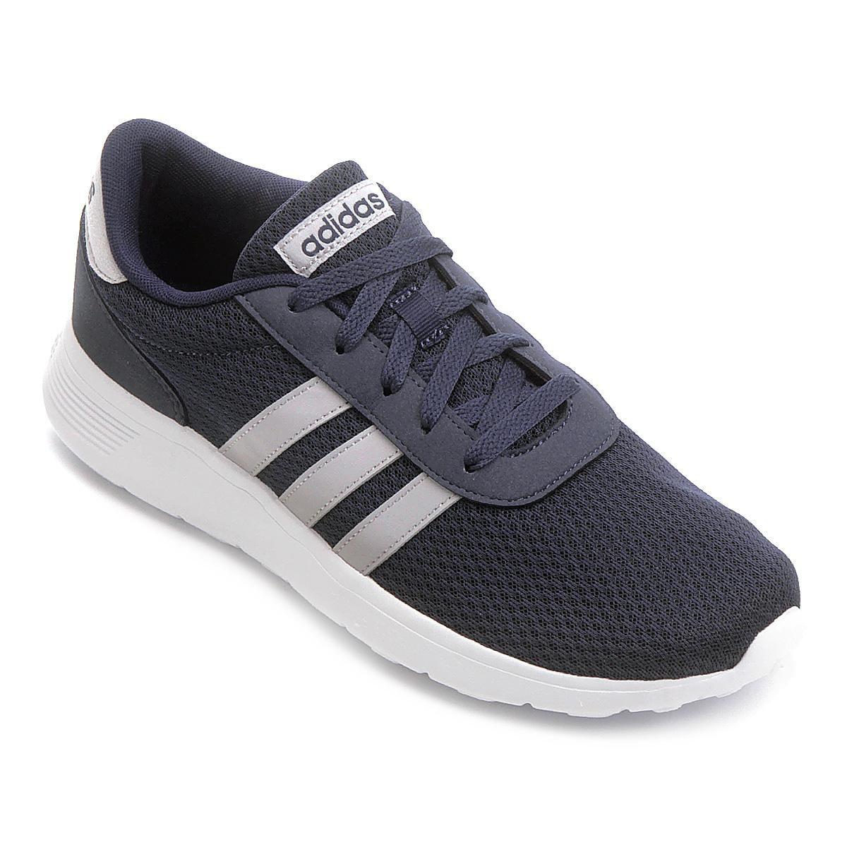 36745304a8b Tênis Adidas Lite Racer Masculino - Azul Escuro - Compre Agora ...