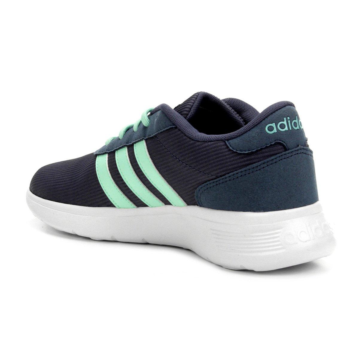 Tênis Adidas Lite Racer W Feminino - Marinho e Verde - Compre Agora ... bcfb2274abb21