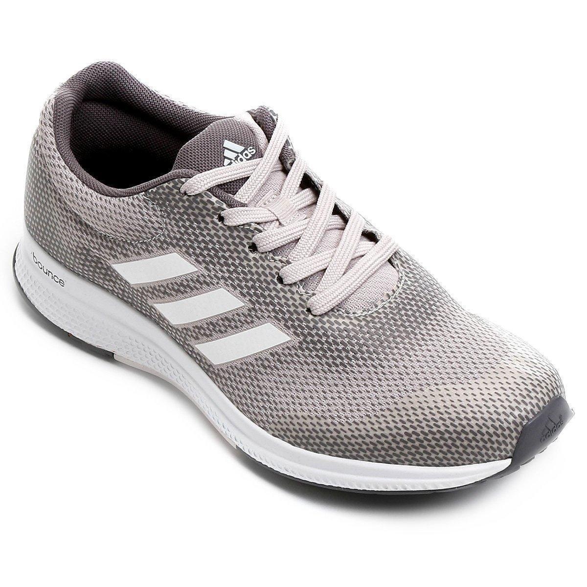 2ba444a2bfeda Tênis Adidas Mana Bounce 2 Feminino - Rosa Claro - Compre Agora ...