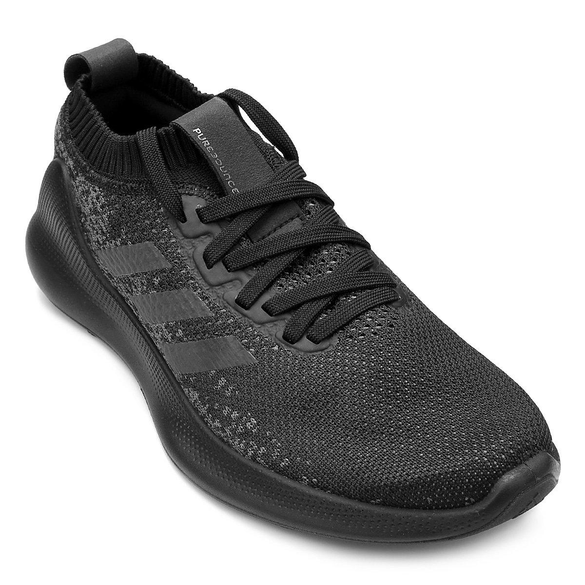 c4624279e4f Tênis Adidas Purebounce Feminino - Preto - Compre Agora