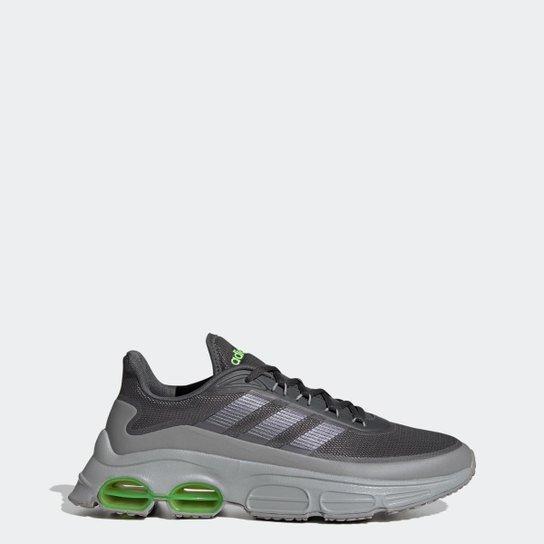 Tênis Adidas QUADCUBE Masculino - Cinza