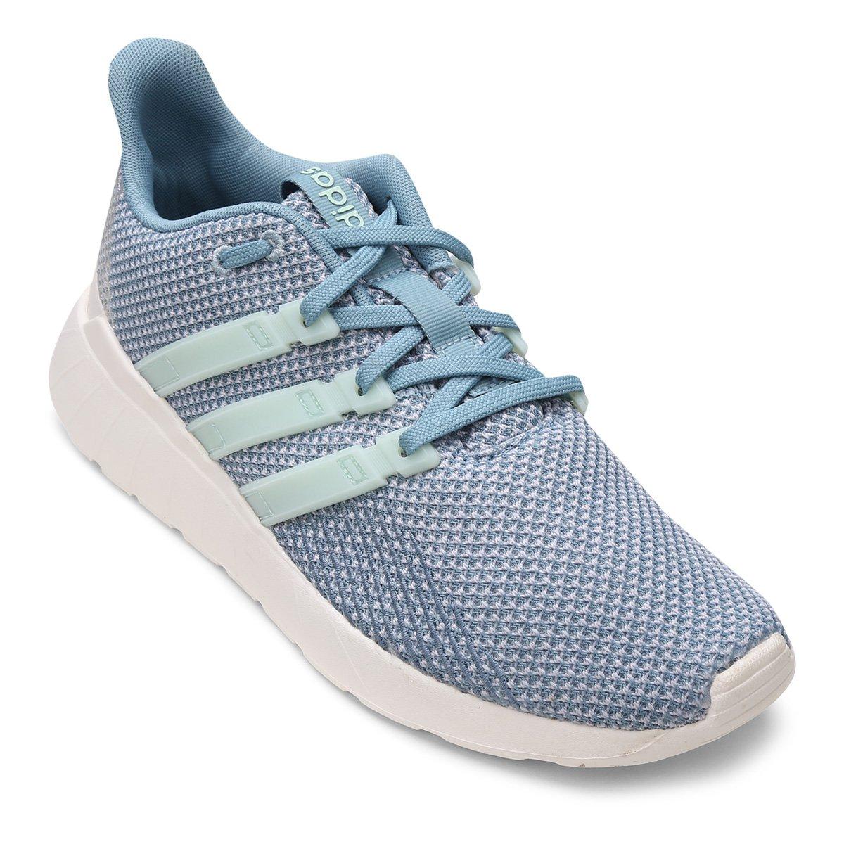 bdfedc19cf3 Tênis Adidas Questar Flow Feminino - Cinza - Compre Agora